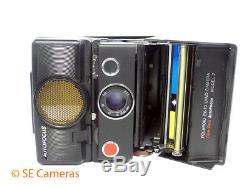 Polaroid Sx-70 Land Camera Time Zero Autofocus Model 2 Instant Camera Excellent