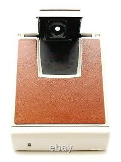 Polaroid Sx-70 Model 2 Instant Camera Ivory/tan Uk Dealer