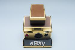 Polaroid sx70 gold edition limited