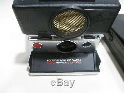 Polaroid sx-70 sonar autofocus Land Camera