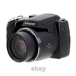 Polaroidi E4038 Digital Camera with40x Optical Zoom 18MP HD Video 3 LCD Bundle