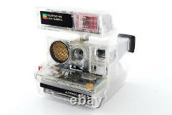 RARE! EXC+++++ Polaroid 660 AF Land See-Through Skeleton Film Camera#655410