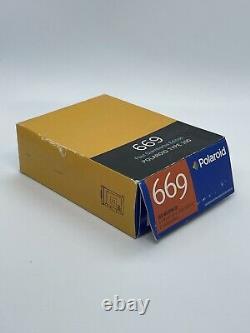 RARE Impossible Project Polaroid 669 Pack Film PAUL GIAMBARBA EDITION