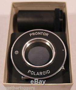 RARE Polaroid German Prontor MP-3 Camera Accessory Special Shutter Land Instant