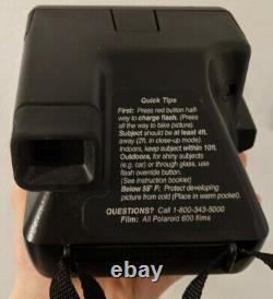 RARE Polaroid Street Photo 636 NightCam Instant Film Camera USED-TESTED-SEE NOTE