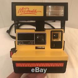 RARE, Vintage McDonalds Polaroid 600 Instant Camera VERY NICE