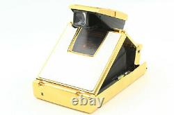 Rare! ALMOST UNUSED Gold Polaroid SX-70 Land Instant Camera From JAPAN #1120