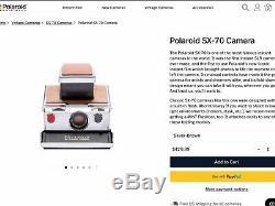 Rare Black Polaroid SX-70 Instant Camera In Box-Film&Flash Tested-Great-ShipsNow