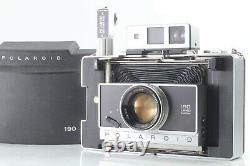 Rare! Exc+5 Polaroid 190 Land Camera Tominon 114mm F3.8 Zeiss Ikon Finder Japan