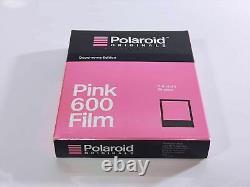 Rare Expired. 2017-07Polaroid Originals Black & Pink 600 FIlm From JAPAN #724