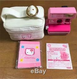 Rare Hello Kitty Polaroid 600 Instant Camera Pink & Fujifilm Red Sanrio F/S