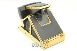 Rare! MINT Gold Polaroid SX-70 Land Instant AF Camera Sonar From JAPAN #1087