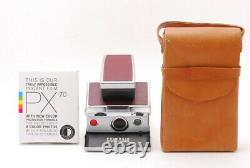 Rare! NEAR MINT in Case with FilmPolaroid SX-70 Alpha Instant Land Camera Japan