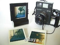 Rare POLAROID CB 70 Film Back + Adapter for 600 SE / SX 70 / 600 Rückteil