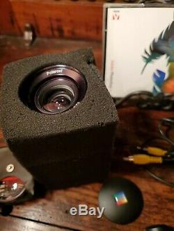 Rare POLAROID PDC 2000 Digital Camera With Case, Chargers, Lense, Extras Mint