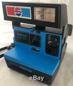Rare Pepsi Polaroid Instant Camera Advertising