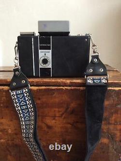 Rare Polaroid 250 Conversion Land Camera Tominon 114mm Lens Copal 195 190