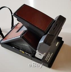 Rare Polaroid SX-70 Autofocus REVUE with Strap