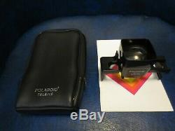 Rare Polaroid SX-70 Camera Tele / 1.5 Close-Up Lens Model 119A + Manual & Case