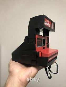 Rare Slim Fast Red Polaroid 600 Instant Film Camera Tested Works Great
