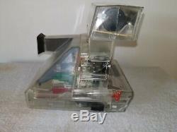 Rare! Transparent Polaroid Autofocus 660 Camera! Promo Limited Model