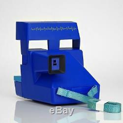 Refurbished Polaroid 600 Camera Blue Cardiac Cam