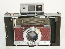 Rote Polaroid Land Camera Sondermodell Zeiss Sucher 110A 180 195 250