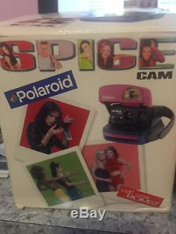 Spice Girls Polaroid Camera Rare With Box