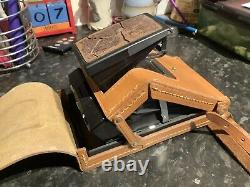 Superb Polaroid SX70 Model 2 Land Camera with case. GWO Function Tested