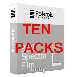 TEN PACKS Polaroid Originals IMAGE SPECTRA BLACK & WHITE Instant Film