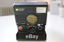 Tested & Working Polaroid SLR 680 with Sonar Autofocus Flash Land Camera SX-70