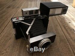 UNIQUE factory-built Polaroid hybrid professional 180/360 with electronic flash