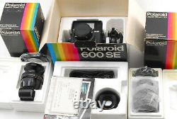 UNUSED ALL BOXED POLAROID 600SE with 75mm 127mm 150mm View Finder SET From JAPAN