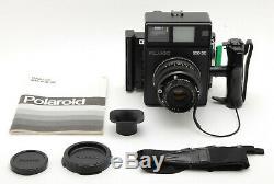 UNUSED Polaroid 600SE Medium Format Camera with Mamiya 127mm F/4.7 From JAPAN