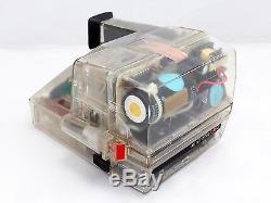 Ultimate rare! Polaroid AUTO FOCUS 660 Transparency, Skeleton model, for display
