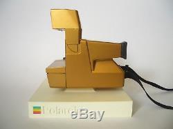 Ultra Rare POLAROID Spirit 600 GOLD camera / Sofortbild Kamera / Sammler