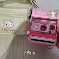 Used Hello Kitty Polaroid 600 Instant Camera Limited Sanrio F/S Japan