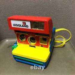 Used Polaroid 600 LEGOLAND LEGO Instant Camera Vintage Rare japan