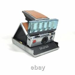 Vgt Polaroid SX-70 Folding Instant Film Land Camera with Flash Bars, Tested