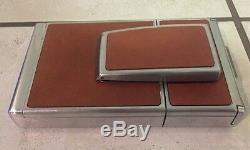 Vintage 1970's POLAROID SX-70 Instant SLR Land Camera Leather Nissin Fsx Flash