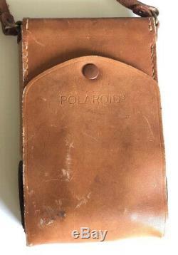 Vintage 1970s Polaroid SX-70 Land Camera Alpha 1 Untested Original Case Brown