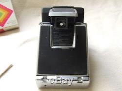 Vintage 70's Polaroid SX 70 Land Camera With Original Film & Accessories