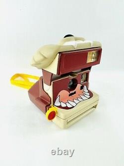 Vintage 90s Taz Polaroid 600 Camera 1999 looney tunes RARE novelty WB warner bro