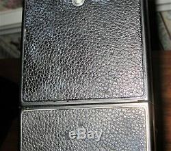 Vintage POLAROID SX-70 Land Alpha1 SE Instant Camera Blue-Button With Case
