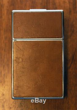 Vintage POLAROID SX-70 Land Camera Brown Leather Untested