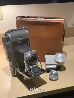 Vintage Polaroid 110A Rangefinder Camera Rodenstock-Ysarex 4.7 127mm Lens