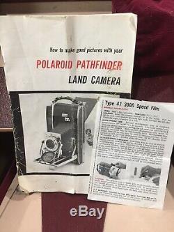 Vintage Polaroid 110B Pathfinder Land Camera
