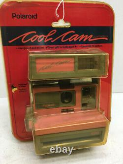 Vintage Polaroid 600 Cool Cam Pink Camera in Package