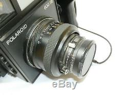 Vintage Polaroid 600 SE Instant Film Camera with Mamiya 14.7 127mm Lens