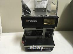 Vintage Polaroid Dine Instant Close-Up Camera Model IV + Film & Original Manual